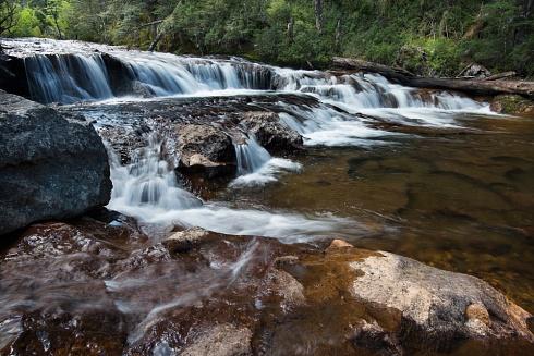 Cascada Oconi - PN Lanin- Área Curruhue