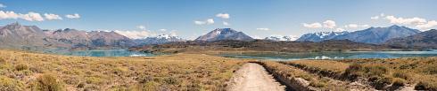 4 fotos - Lago Belgrano, vista Oeste