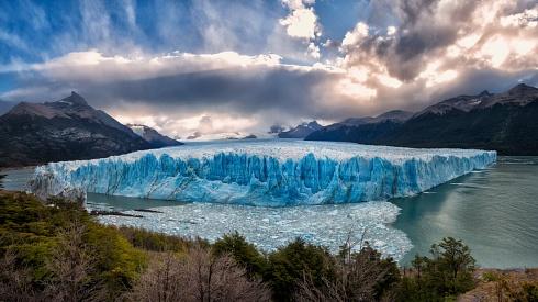 Glaciar Perito Moreno - 3 fotos verticales