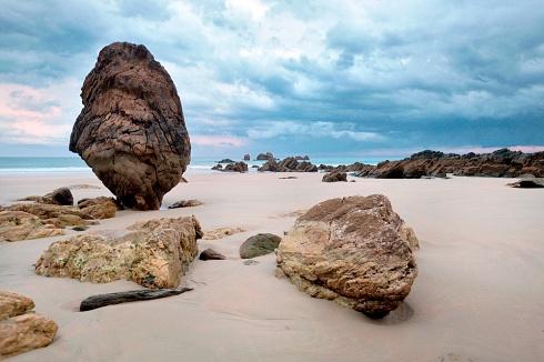 Playa Aguilar IV, Asturias