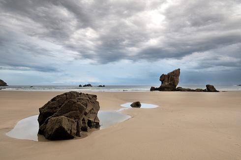 Playa Aguilar - Asturias - España