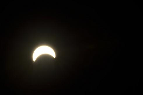 Eclipse en Junin de los Andes