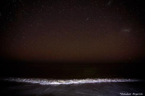 Mar Argentino. Sereno y estrellado