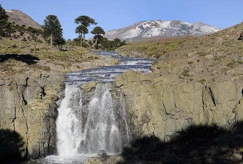 Caviahue, camino de las 7 cascadas