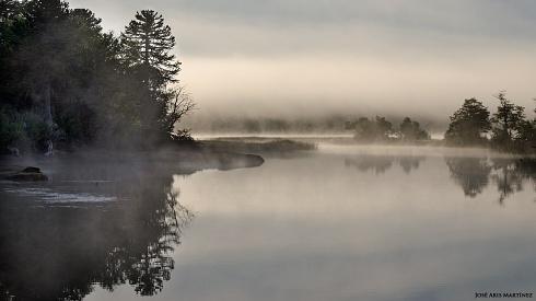 Niebla en los lagos