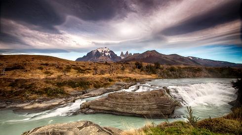 Cataratas del Paine.