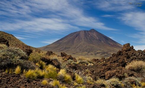 Volcan enmarcado