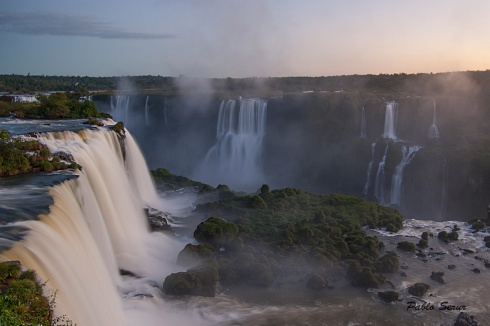 Cataratas (vista desde Brasil)