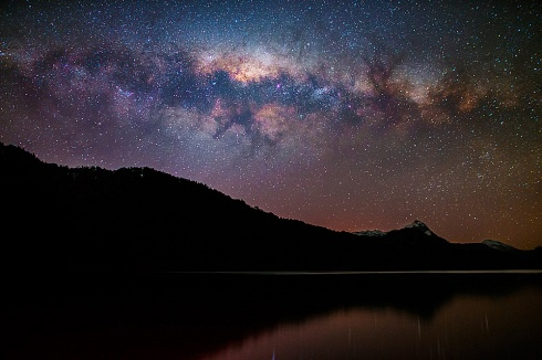 Via Láctea en Lago Espejo