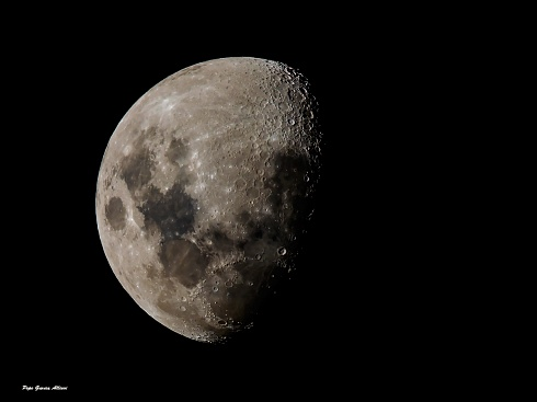 Orografía lunar...