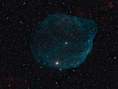 Una burbuja en el espacio