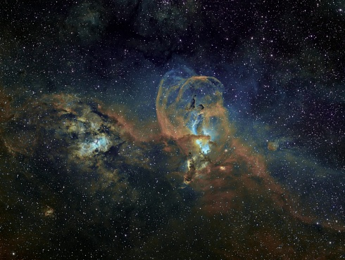 Estatua de La Libertad - NGC 3576